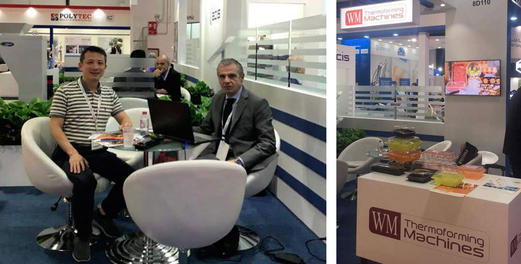 Thank you for visiting WM at ArabPlast, DUBAI – WM Thermoforming